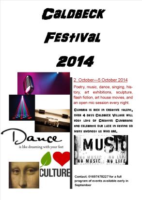 Caldbeck Festival 2014 Eden Arts